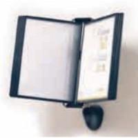 Display de prezentare de perete cu 10 buzunare A4, HD DESIGN Vip Special Selection- antracit