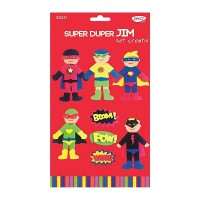 Set creativ Super Duper Jim, Daco