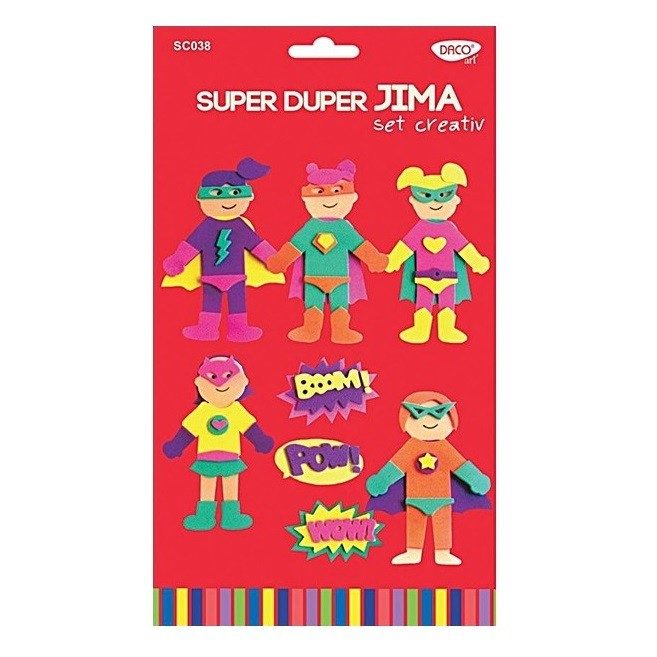 Set creativ Super Duper Jima, Daco