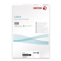Etichete autoadezive cu colturi drepte XEROX