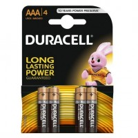 Baterii Duracell tip AAA Long Lasting Power, set 4