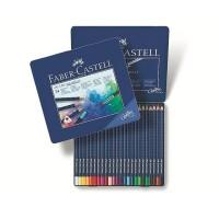 Creioane colorate acuarela Art Grip 24 culori,  Faber-Castell