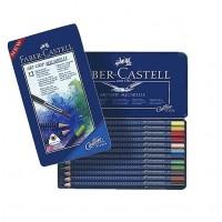 Creioane colorate acuarela Art Grip 12 culori,  Faber-Castell