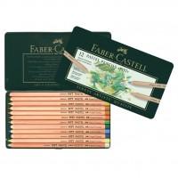 Creioane color Pastel Pitt 12 culori Faber-Castell