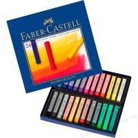 Creioane color Pastel Soft 24 culori Faber-Castell