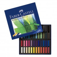 Creioane color Pastel Soft Mini 48 culori Faber-Castell