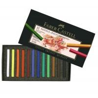 Creioane Pastel Polychromos 12 culori Faber-Castell