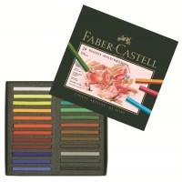 Creioane Pastel Polychromos 24 culori Faber-Castell