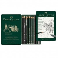 Set Pitt Monochrome Grafit 11 Buc. Faber-Castell