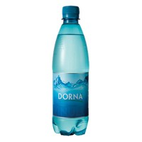 Apa minerala carbogazoasa 0,5 litri, 12 buc./bax, Dorna