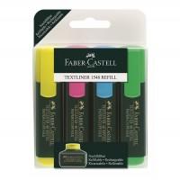 Textmarker Faber-Castell 1548 set 4 culori