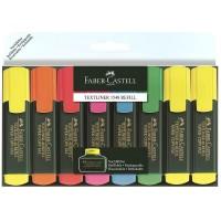 Textmarker Faber-Castell 1548 set 6+2