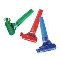 Suflatori Party culori metalizate, set 6 bucati, Herlitz