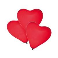 Baloane rosii forma de inima, set 4, Herlitz
