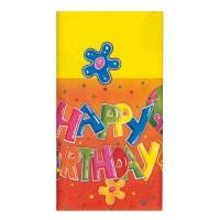 Fata de masa 120 x 180 cm Happy Birthday, Herlitz