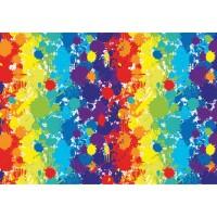 Hartie impachetat Rainbow 2m x 70cm, Herlitz