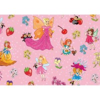 Hartie impachetat Fairy Dreams 2m x 70cm, Herlitz