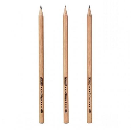 Creion HB lemn natur Herlitz