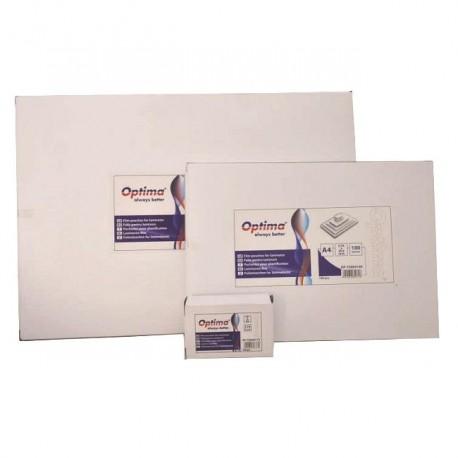 Folie laminator 65x95, 125 microni, 100 buc./top, Optima