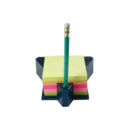Cub autoadeziv cu suport, 76x76 mm, 400 file, Stick'n - 5 culori neon