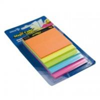 Magic cube color, 150 file, HOPAX  Magic Steps - 5 culori neon