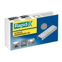 Capse Rapid Omnipress 30 coli, 1000 buc./cutie