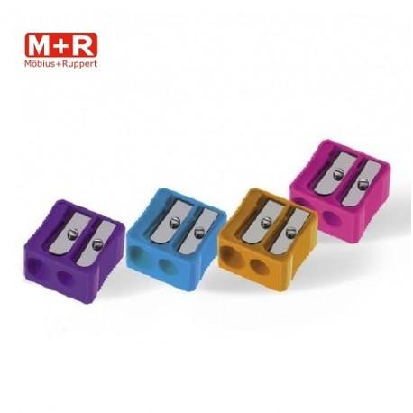 Ascutitoare dubla din plastic M+R