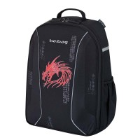 Rucsac Herlitz be.bag Airgo Dragon + cadou caiet my.book flex A4