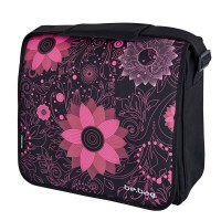 Geanta de umar Herlitz be.bag Messenger Flowers