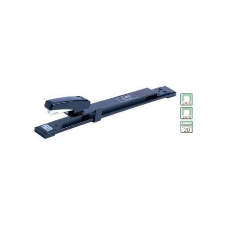 Capsator metal Noki STD ML-1000, cu brat lung, 20 coli, capse 24/6
