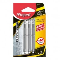 Set 3 rezerve 0,5mm Maped Reload