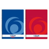Caiet A4 cu spira 80 file x.book (College), Herlitz