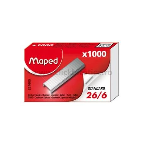 Capse 26/6, 1000 buc./cut., Maped