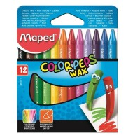 Creioane color cerate Maped 12 culori