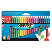 Creioane color cerate Maped 24 culori