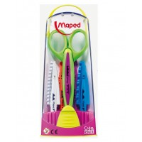 Foarfeca creativa cu set de 5 lame, Maped