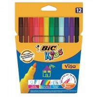 Caroca set 12 culori Bic KiDS Visa