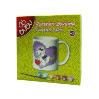 Set creativitate portelan cana 2, Bubu