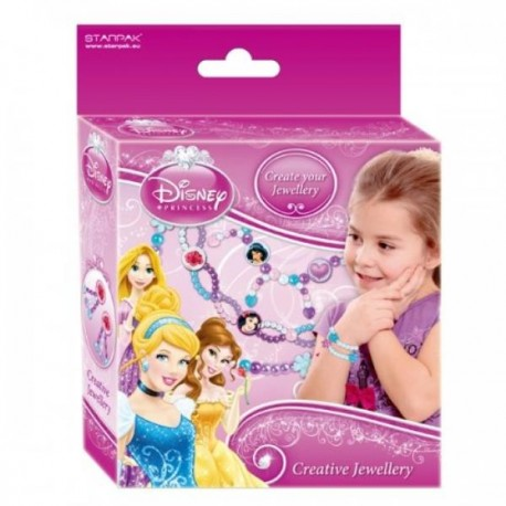 Set creare bijuterii Disney Printese, Starpak