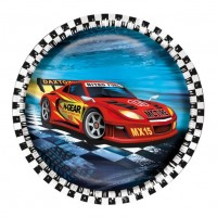 Farfurii 23 cm set 8 bucati Super Race, Herlitz