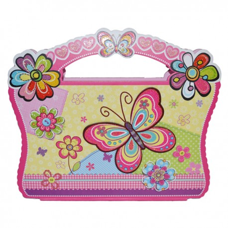 Agenda jurnal cu cheita in gentuta Butterfly, Starpak