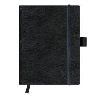 Agenda Herlitz My.Book 19x24,5 cm, coperta piele sintetica neagra