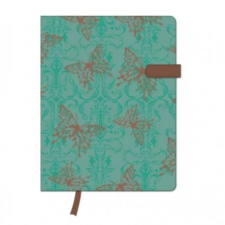 Agenda Herlitz My.Book A6, cu clapeta magnetica, Butterfly