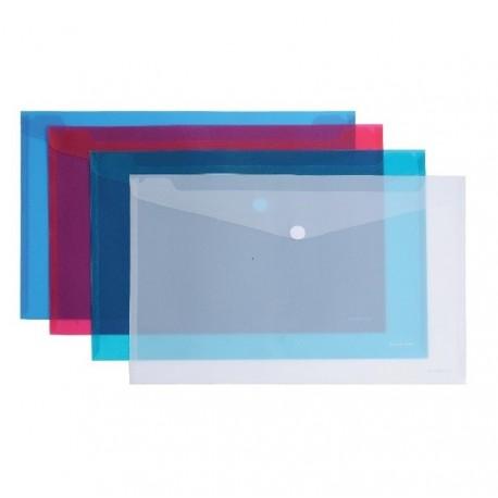 Mapa Plastic ErichKrause C6 Cu Scai Transparent Asortate