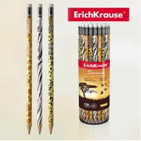 Creion HB cu radiera ErichKrauser Savanna