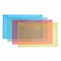 Mapa Plastic ErichKrause A3 Cu Capsa Textura Diagonala Translucid Asortate