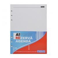 Rezerva organizer A5, 100 file