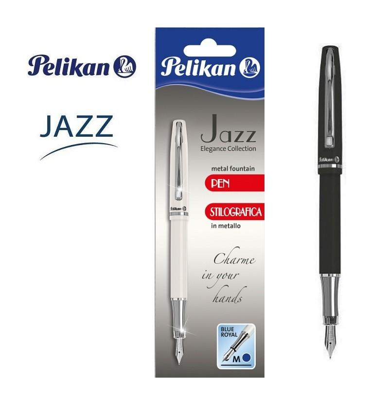 Stilou Pelikan Jazz Elegance blister negru