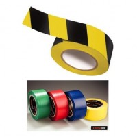Banda adeziva PVC pentru marcaj pardoseli 50mm x 30m, Bedax