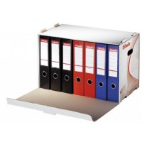 Container arhivare bibliorafturi, deschidere latarala, Esselte